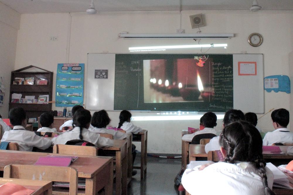 Smart classes in Amity International School Pushp Vihar