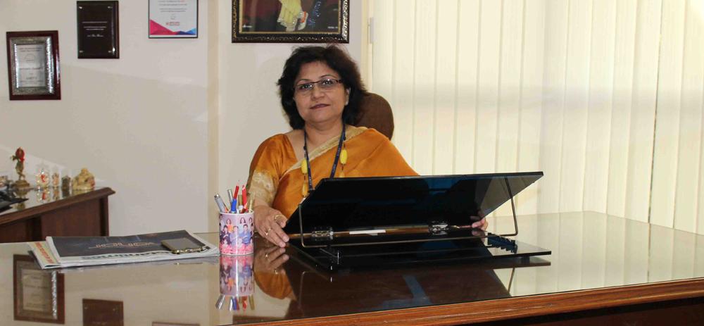 AIS Pushp Vihar-Principal- Mrs.Ameesha Mohan