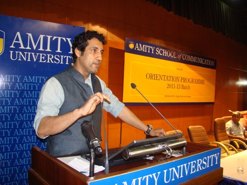 Mass communication amity university noida