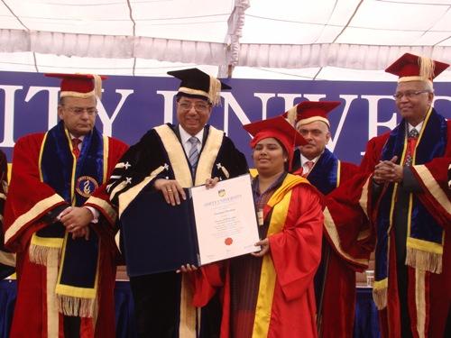 Amity University honors Mr. Arun Jaitley, Hon'ble Member ...