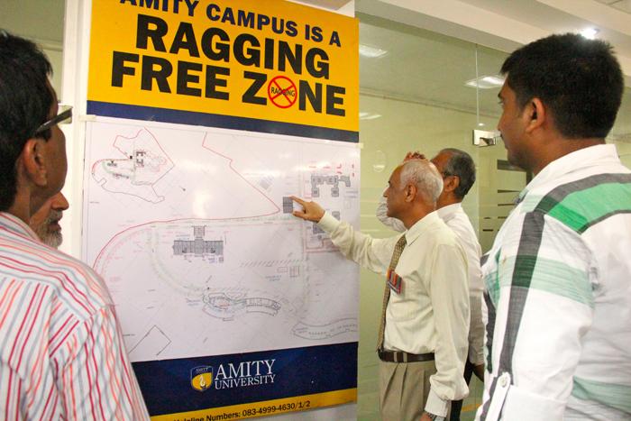 Amity University Madhya Pradesh organized the visit of Collector and